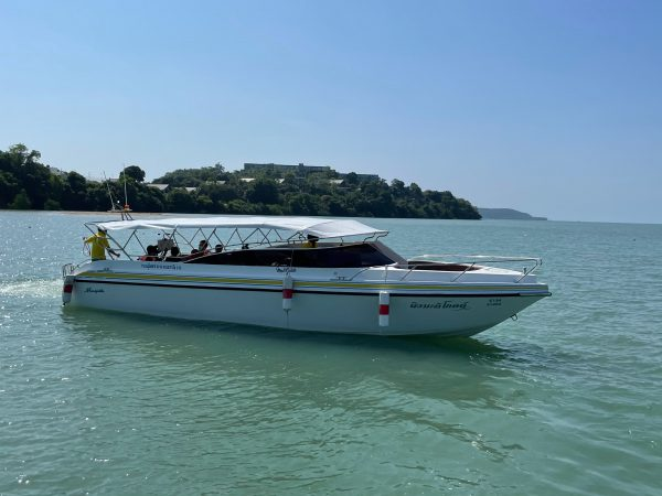 private speedboat charter